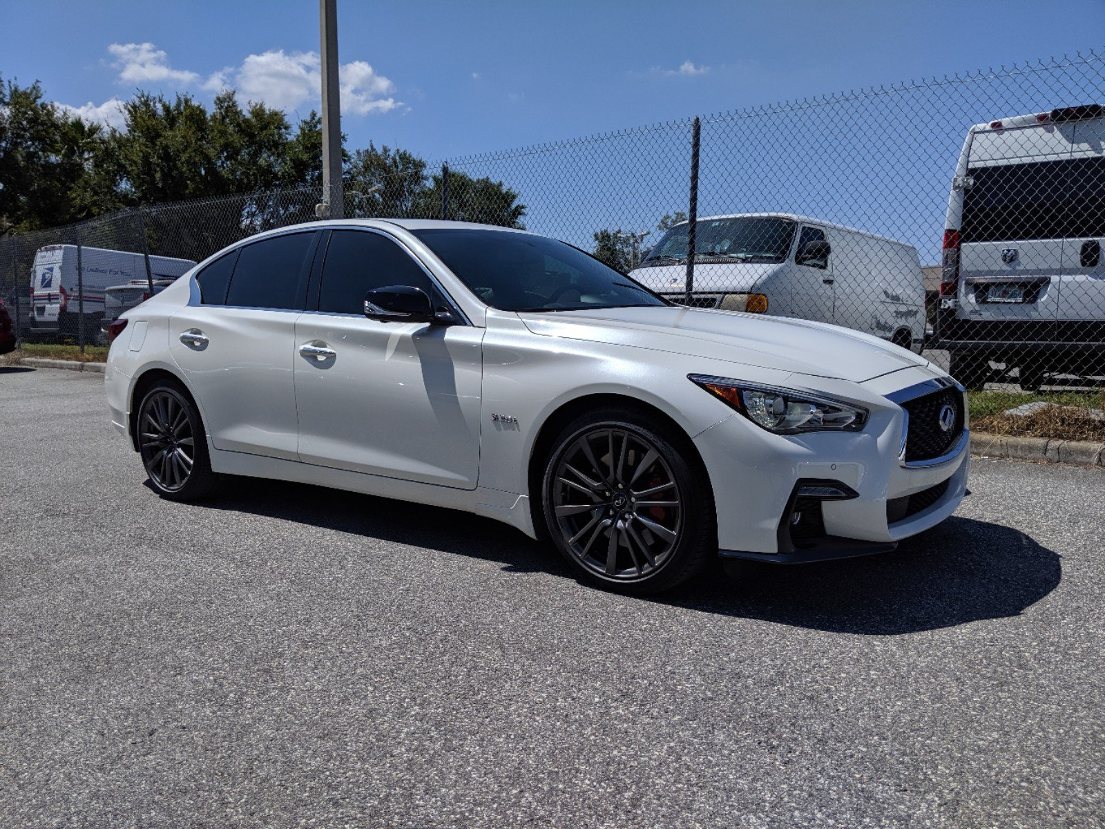 Pre-Owned 2018 INFINITI Q50 RED SPORT 400